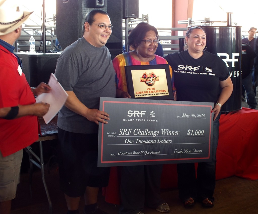 Grand Champions Award for Porterhouse BBQ. Photo By Ed Simon for The Los Angeles Beat.