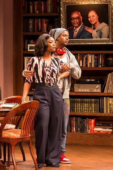 """L-R: Shanésia Davis and Kamal Angelo Bolden; Photo by Craig Schwartz"
