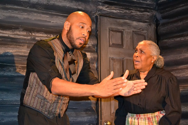 (L-R) Boise Holmes as John Copeland and Starletta DuPois as Delilah Copeland (son & mother), Photo Courtesy of Mary Lange