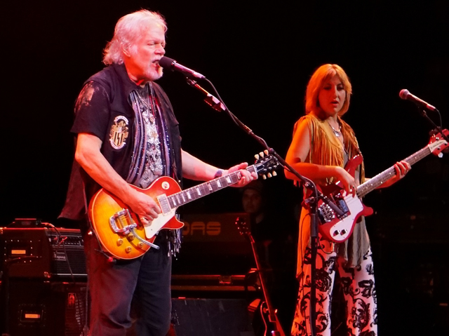 Randy Bachman and bassist