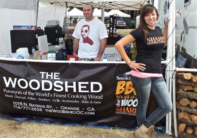 Renea at the Woodshed. Phot by Ed Simon for The Los Angeles Beat.