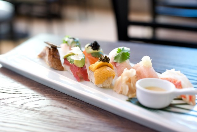 SushiRoku_SignatureStyleSushi. Photo courtesy of sushi Roku/IDG
