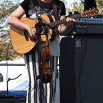 Jane Vidrine of The Magnolia Sisters (fiddle, guitars & vocals)