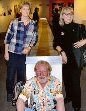 Cathi, John and Jami Cassady. Photo courtesy of the Beat Museum.