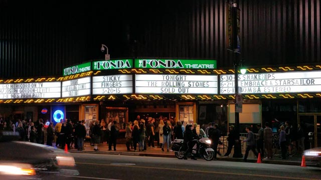 Fonda Theater 5/20/2015 - Photograph: Ivor Levene