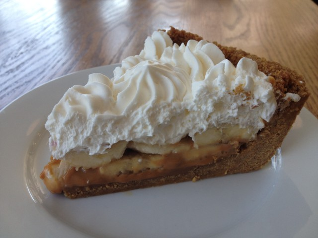 Cassell's Banana Cream Pie with Dulce de Leche