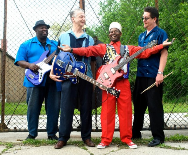 Lil' Ed and the Blues Imperials. Photo courtesy of Doug Deutsch PR