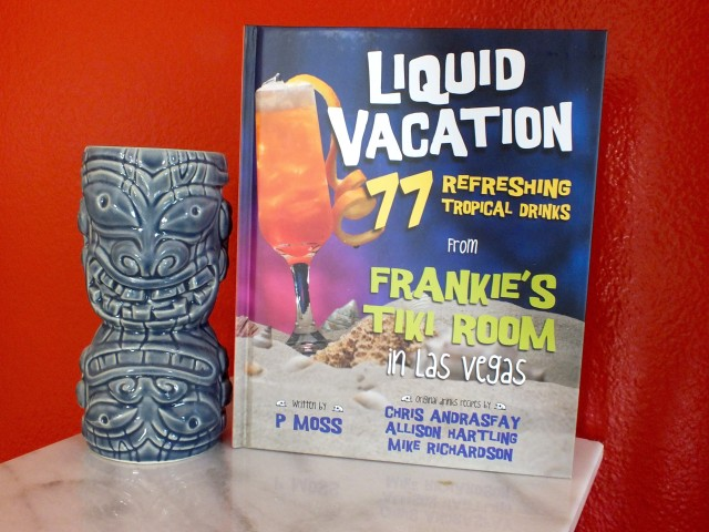 Liquid Vacation Cover with Mug. Photo by Ed Simon for The Los Angeles Beat.