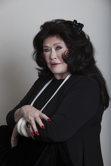 Barbara Van Orden in Stunning Black, Photo Courtesy of Bill Dow