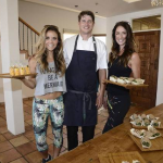Chef Alex Williams and the Tone It Up Girls