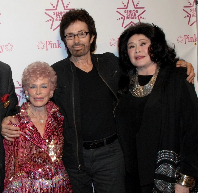 (L-R) The Pink Lady, George Chakiris, and Barbara Van Orden, Photo Courtesy of Bill Dow