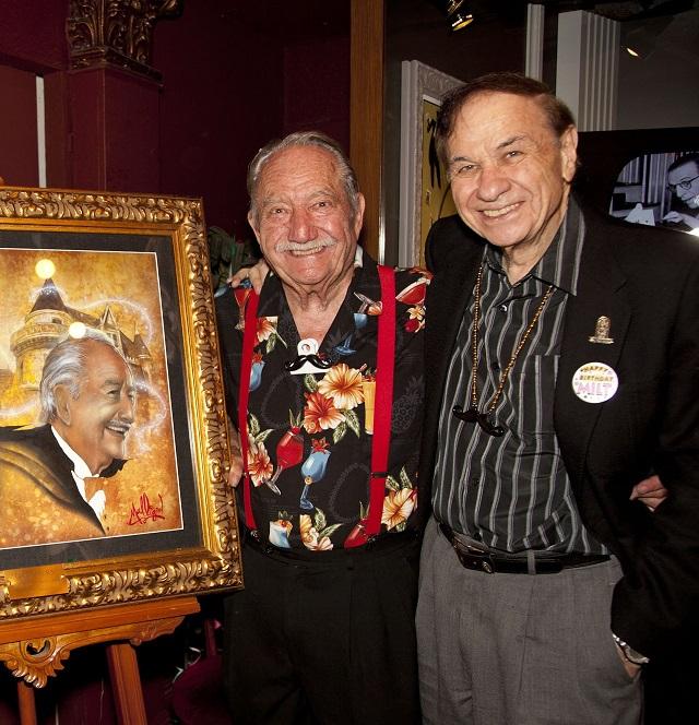 (L-R) Milt Larsen and Richard Sherman, Photo Courtesy of Magic Castle Inc.