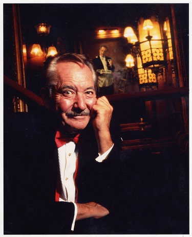 Milt Larsen, Photo Courtesy of Magic Castle, Inc.