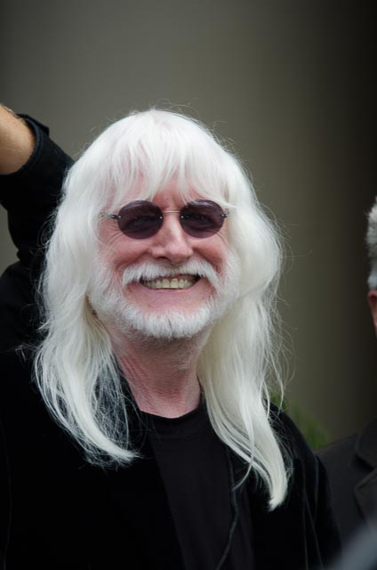 Edgar Winter - Photo: Ivor Levene for The Los Angeles Beat