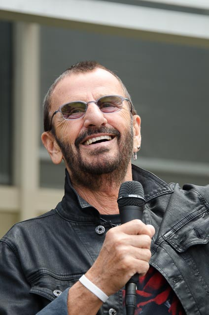 Ringo is all smiles - Photo: Ivor Levene for The Los Angeles Beat