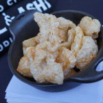 House made Chicharrones from Barrel & Ashes
