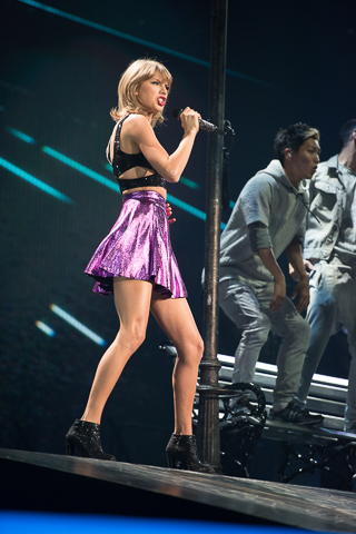 Taylor Swift Staples Center Takeover 08/22/15