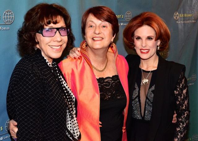 Lily Tomlin, Dr. Helen Caldecott and Kat Kramer