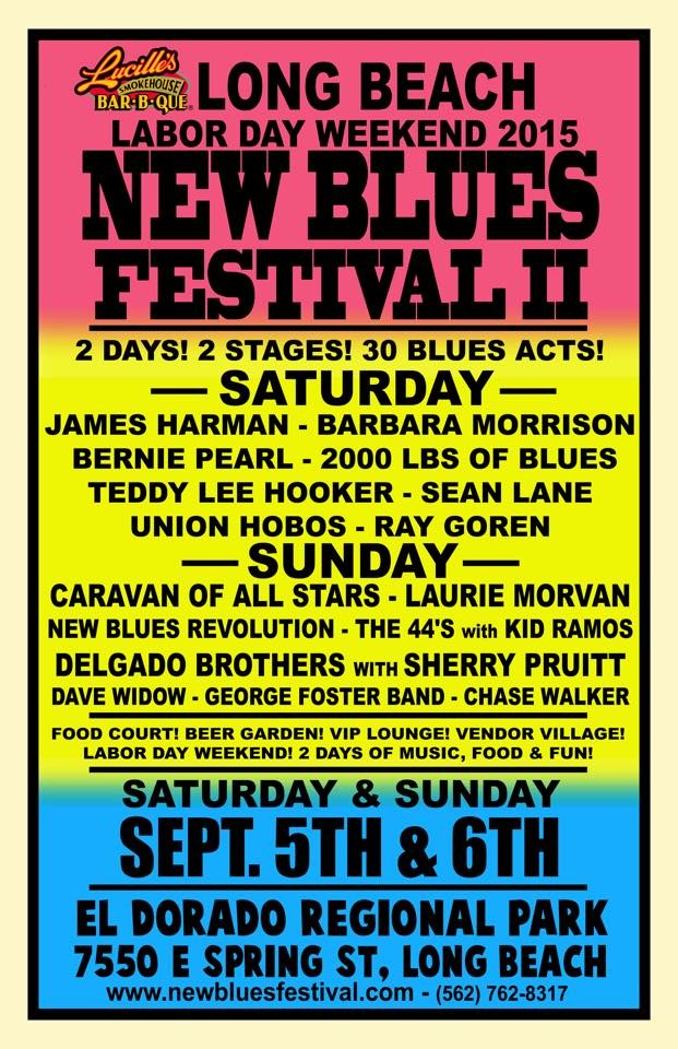 NEW BLUES FESTIVAL 2 POS. courtesy of Doug Deutsch PRTER