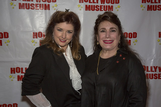 (L-R) Actress Morgan Brittany and President and Founder of The Hollywood Museum, Donelle Dadigan, Photo Courtesy of Bill Dow
