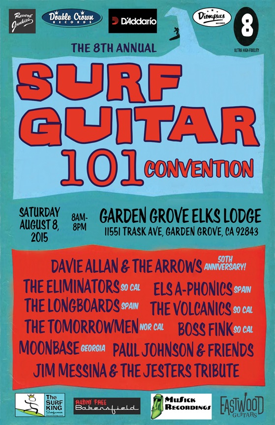 Surf's Up For The 8th Annual Surf Guitar101 Convention