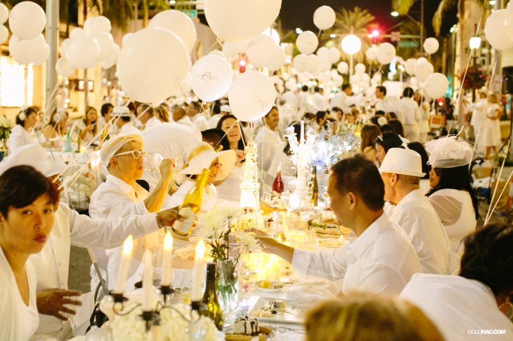 Diner in Blanc 2013 Courtesy of the website