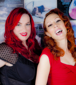 The women of Iconic pinups: Caril Sheridan and S Lande
