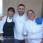 Chef Freddy Vargas and the Scarpetta Team