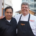 Loteria Chef Chef Jim Shaw and fellow Loteria! cook