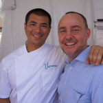 Michael Hung and Stephane Bombet of the soon-to-open Viviane