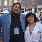 Eggslut and Ramen Champ's Alvin Cailan with Jazz from Jitlada