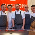 Chef Sang Yoon and the team at Lukshon