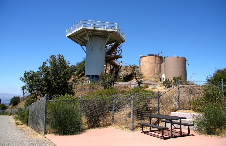 Abandoned Nike Missile Silo in Santa Monica Mountains