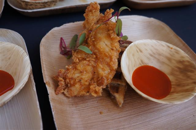 Toca Madera's  Crispy Chipotle Chicken Strips