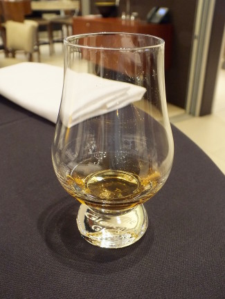 Whisky sample