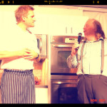 Chef Curtis Stone and Jonathan Gold