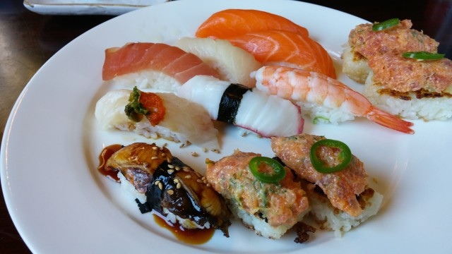 Katsu-ya Nigiri Sushi (photo by ChrisO)