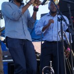 Horns in New Orleans All Star Band