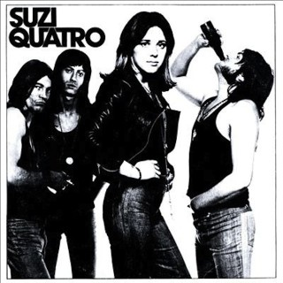 Suzi Quatro's first album. Courtesy of RAK Records.