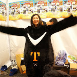 Morphing into the bear for the Taiwan Tourist Bureau