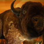 Buffalo at Clifton's Cafeteria