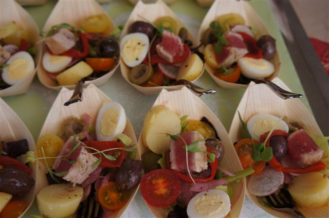 . Maison Giraud's Nicoise salad