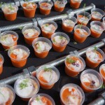 Gazpacho with octopus and buttermilk snow from Gardner Junction