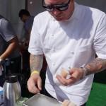 Chef Steven Fretz of Church Key makes frozen cocktails