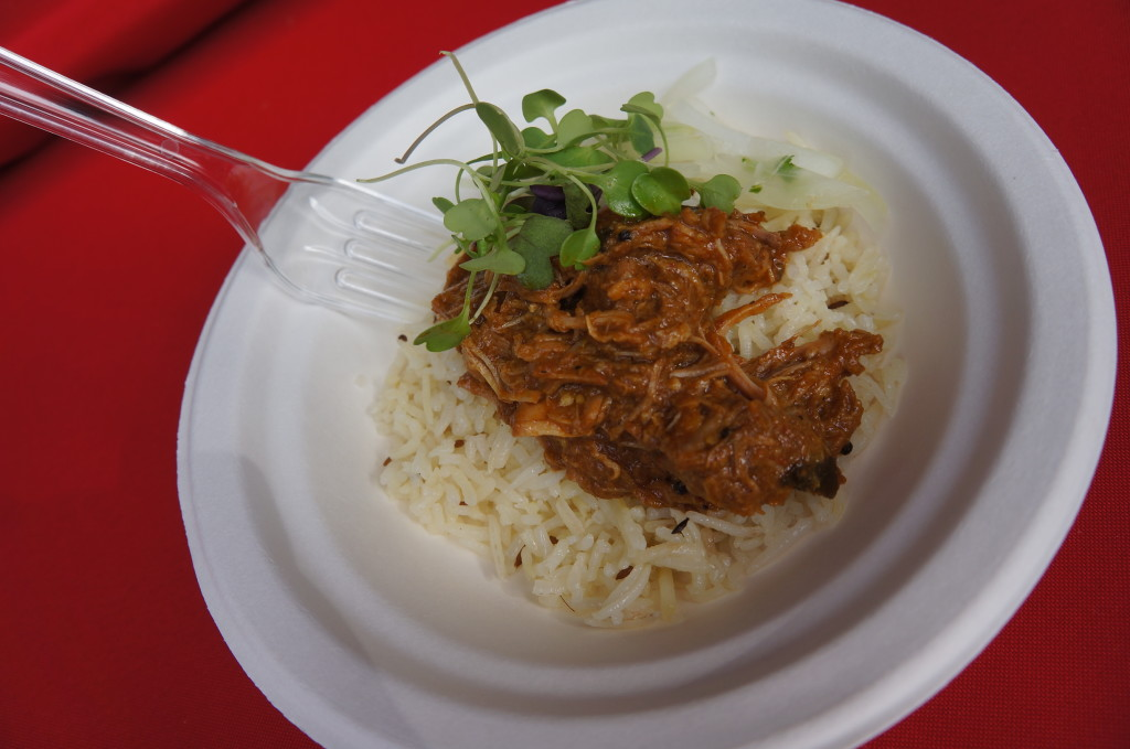 Badmaash served a Goan Style Pork Curry from Badmaash