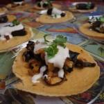 Loteria Grill's chile en nogada tacos