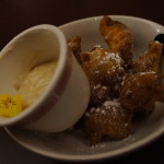 Apple Fritters at Button Mash
