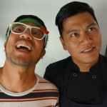 Nguyen Tran and sous chef of Starry Kitchen at Button Mash