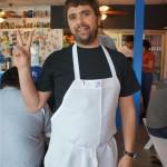 Jon Shook at Trois Familia
