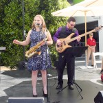 Live Music from Lauren and the Mike Frost Band. Photo by Ed Simon for The Los Angeles Beat